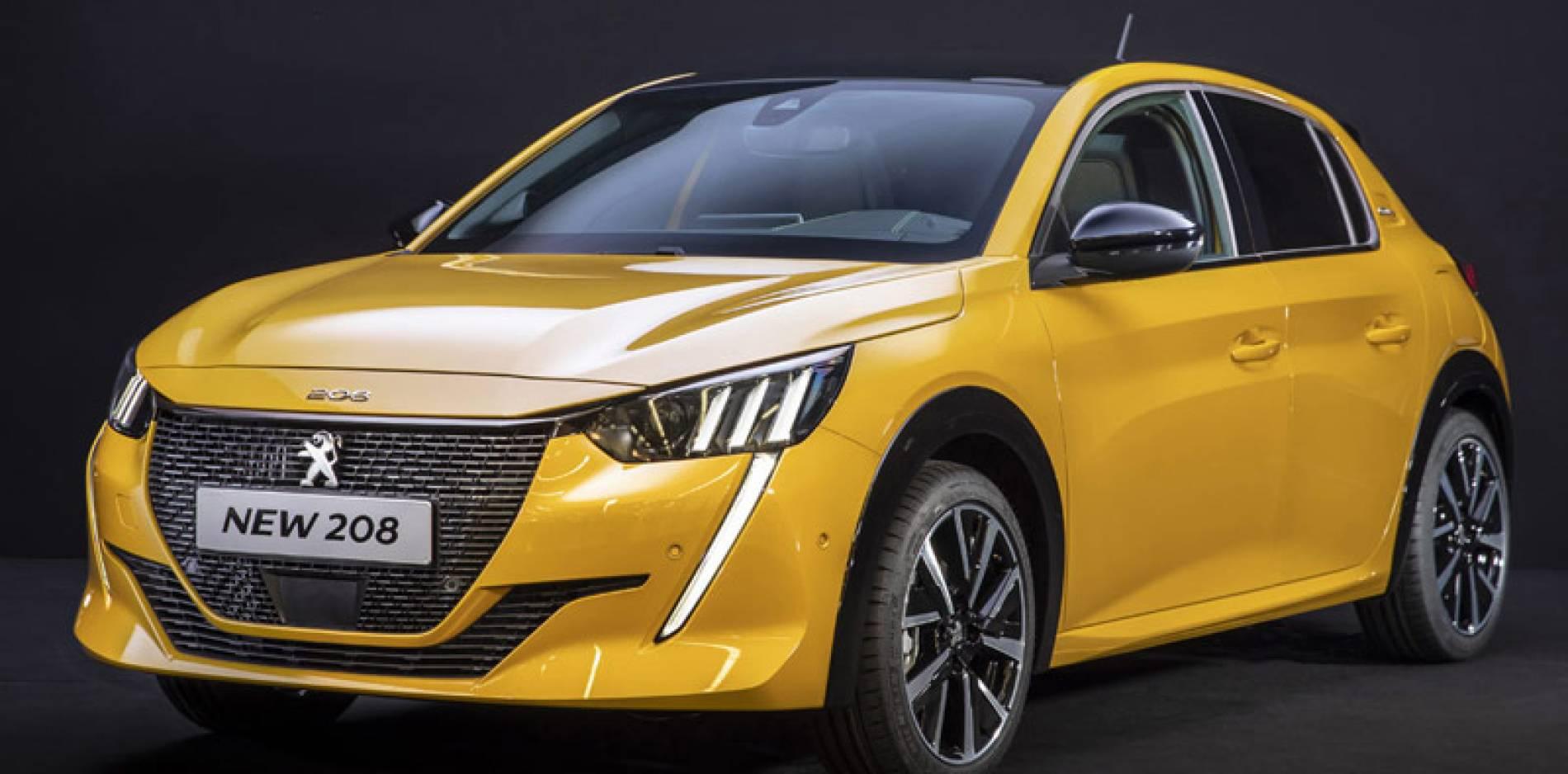 El Peugeot 208 se reinventa: imagen radical, tecnología de vanguardia y versión eléctrica