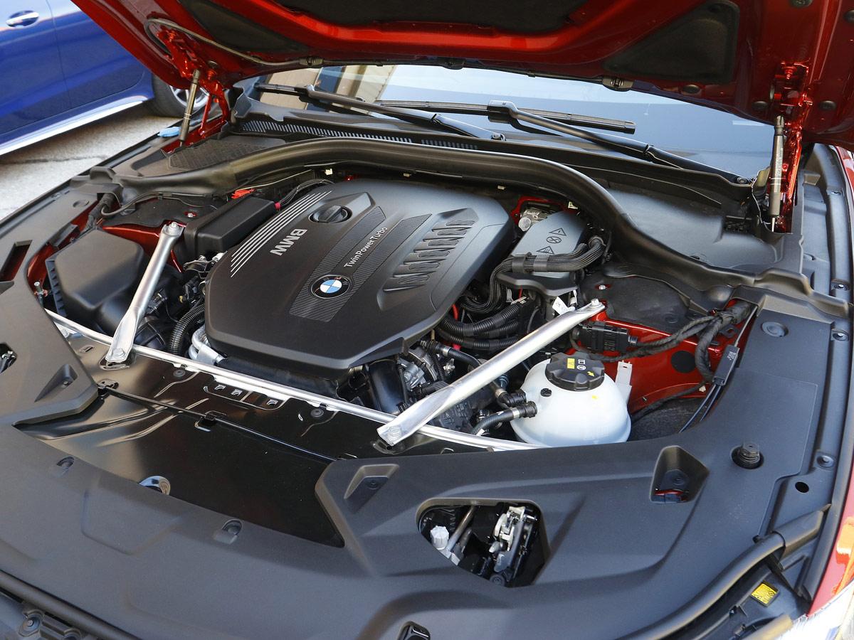 Prueba BMW 840d