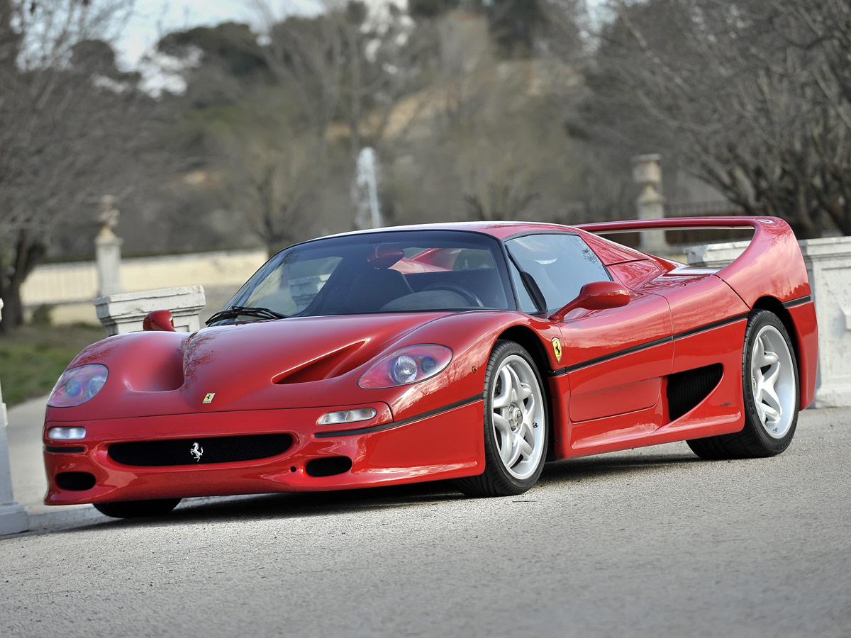 Prueba Ferrari F50