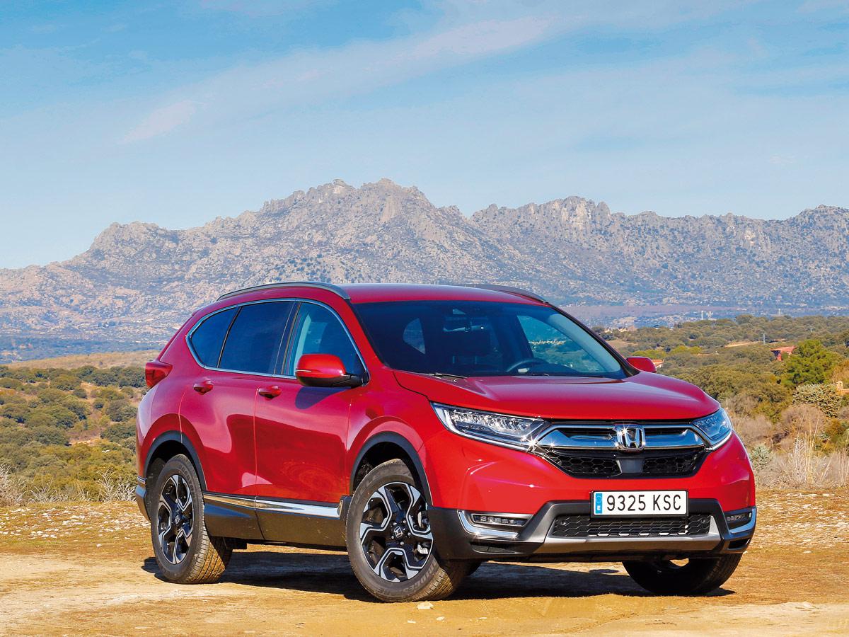 Prueba Honda CR-V-2019