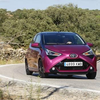 Prueba del Toyota Aygo 1.0 x-cite, con mucho estilo