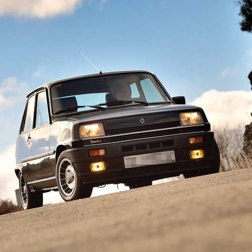 Prueba clásica, el último Renault 5 Copa Turbo de España