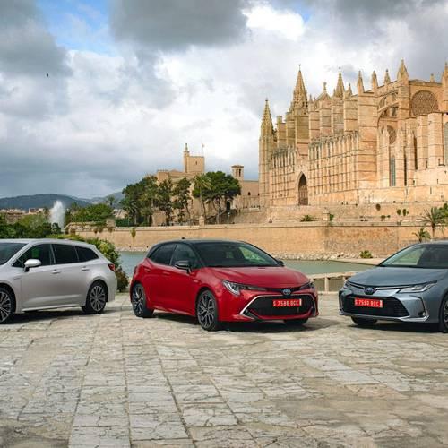 La nueva gama Toyota Corolla, a prueba