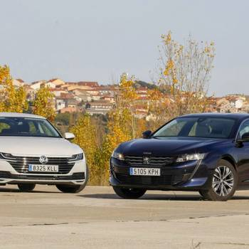 Peugeot 508 frente al Volkswagen Arteon, ¿con cuál te quedarías?