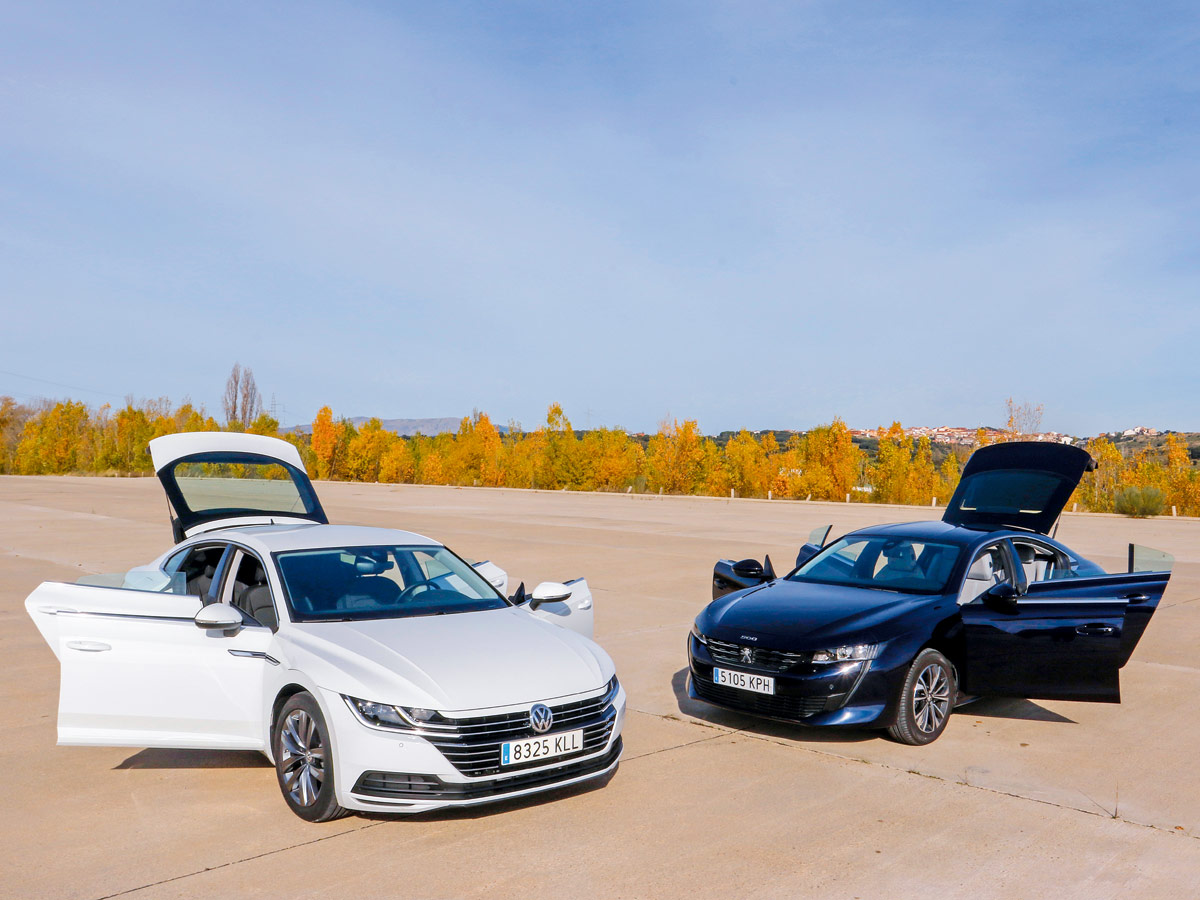 Volkswagen Arteon vs Peugeot 508