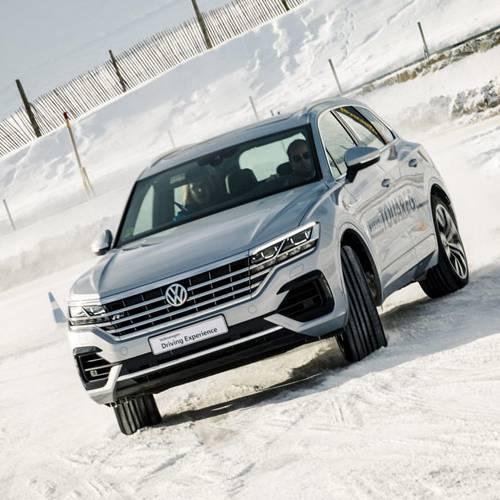 Volkswagen Winter Experience, aprender como modo de divertirse