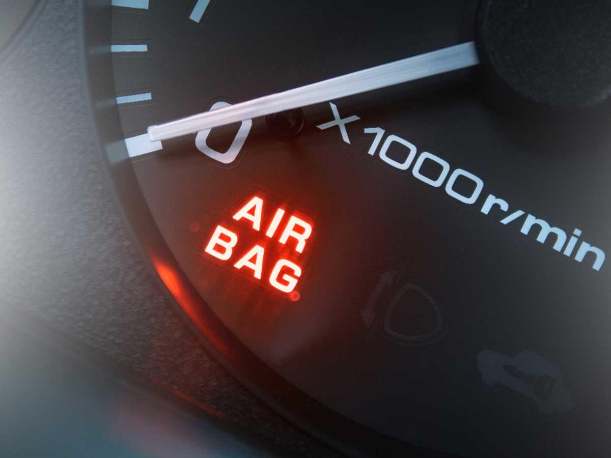 activación airbag