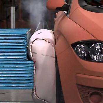 El airbag externo para coches entra en su fase final de desarrollo