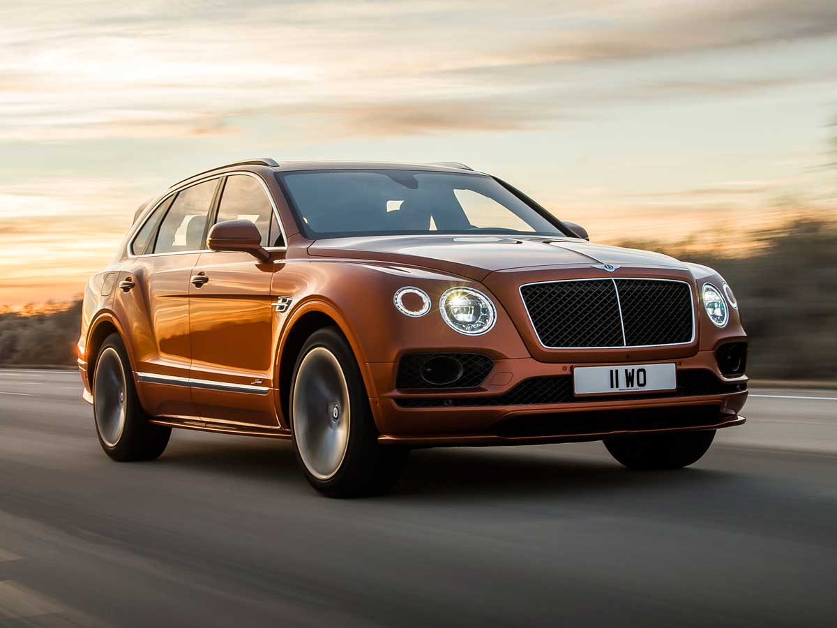 bentley bentayga speed 2019 frontal