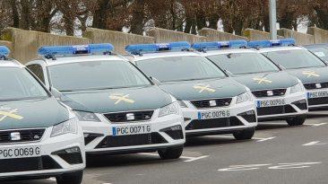 coches de la guardia civil 2019