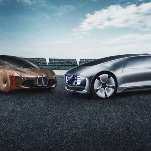 BMW y Mercedes-Benz, juntas para crear una nueva generación de coches autónomos