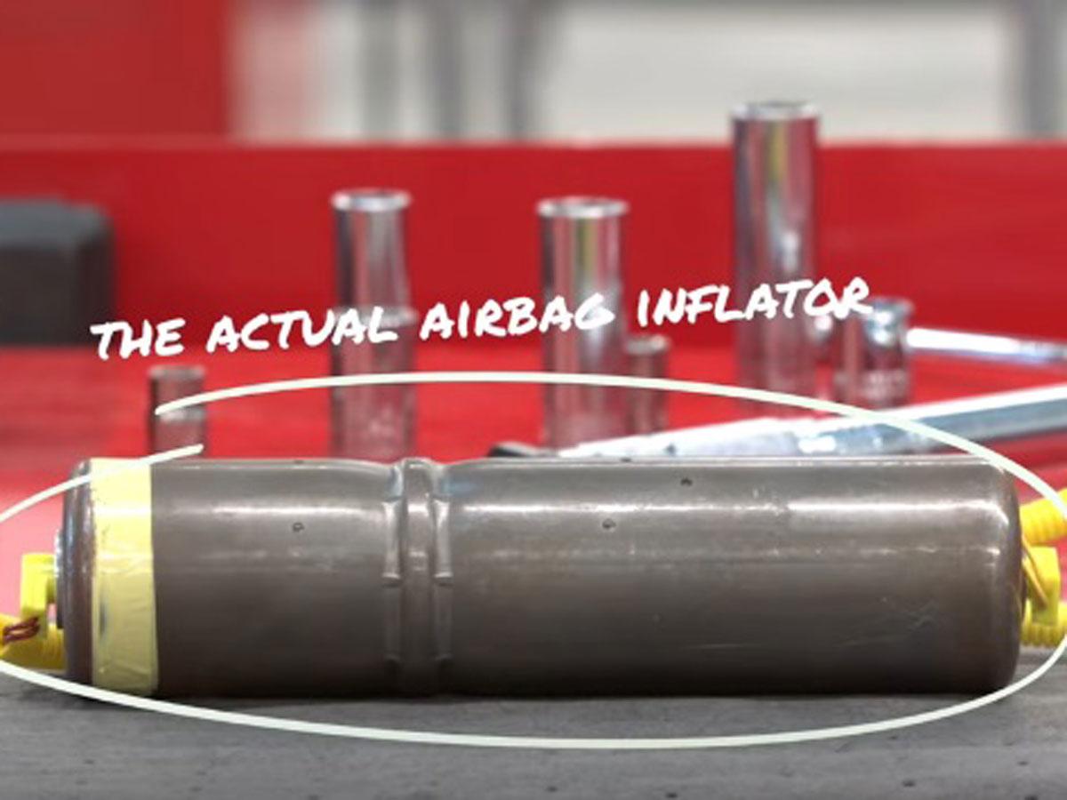 inflador airbag