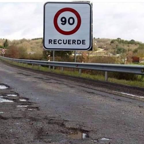 La DGT, obligada a desmentir una foto viral falsa sobre el nuevo límite de velocidad
