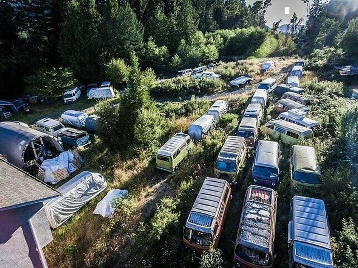 volkswagen transporter clásica