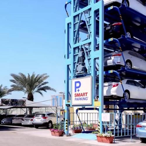 Un aparcamiento vertical para acabar con los problemas de parking