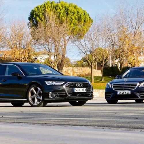 Audi A8 L vs. Mercedes-Benz S 350 d L, de poder a poder