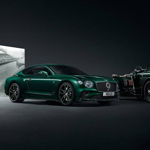 Bentley Continental GT Number 9 Edition by Mulliner, homenaje a la altura