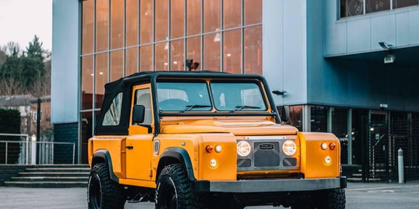Land Rover Defender II vuelve a brillar de la mano de Kahn Design