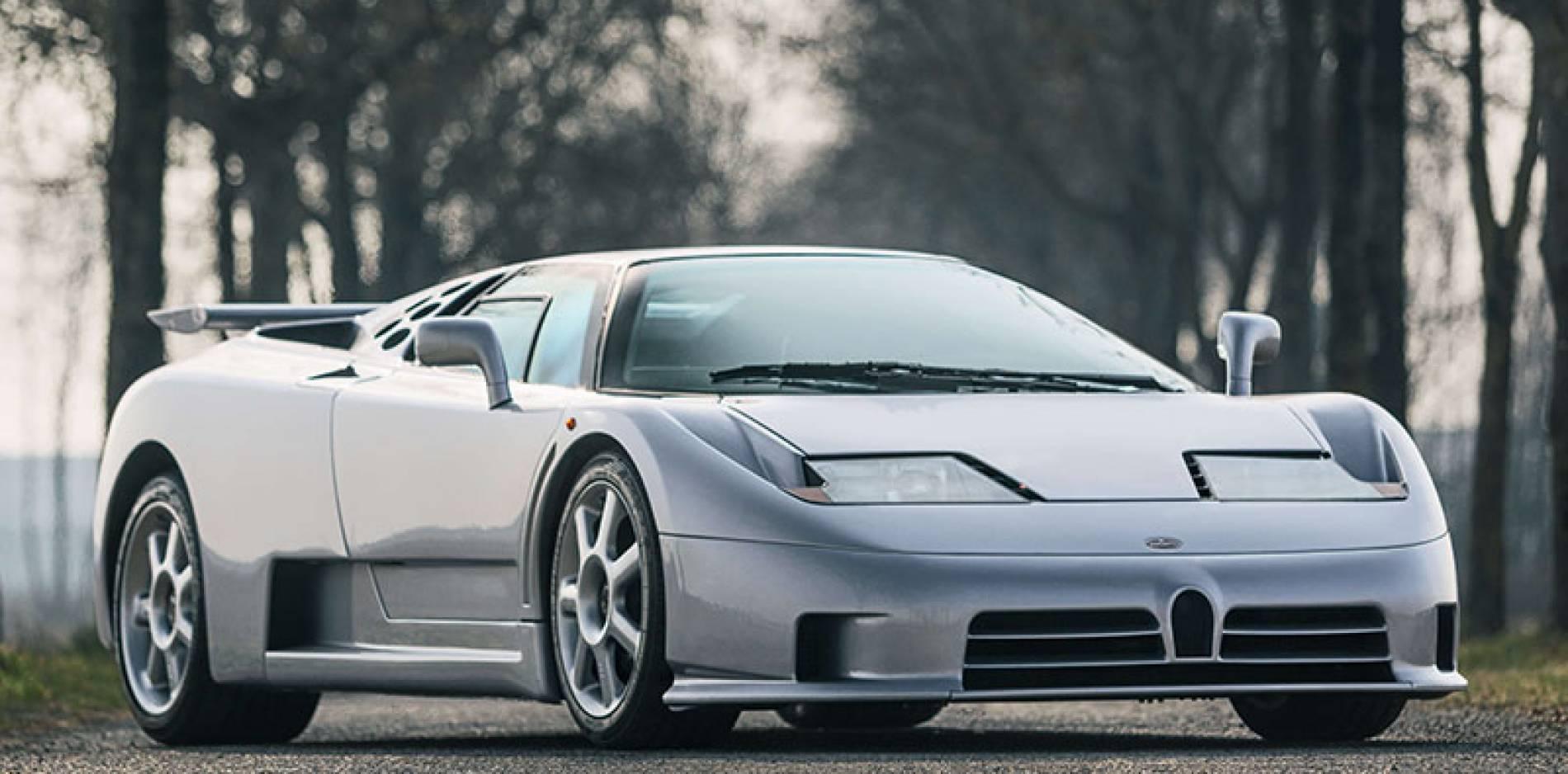 Sale a la venta el último Bugatti EB110 fabricado antes de la quiebra de la marca