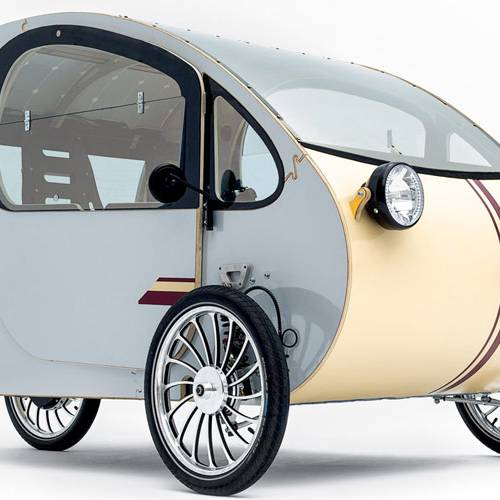 Nueva oportunidad para Santana: producirá triciclos eléctricos solares