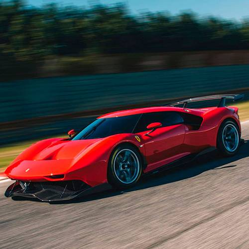 Ferrari P80/C, el One-Off más radical surgido de Maranello