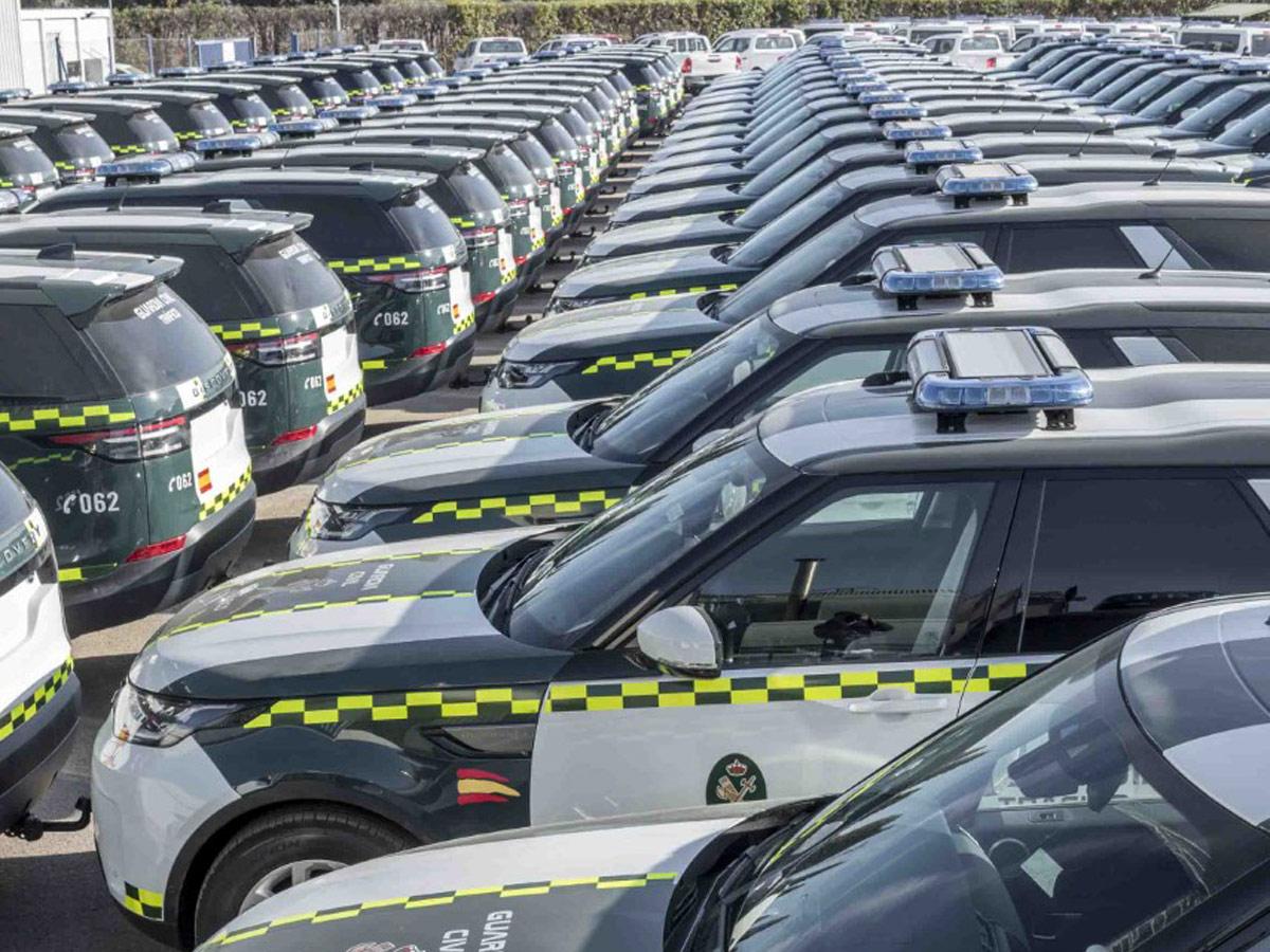 Guardia Civil Tráfico Land Rover Discovery