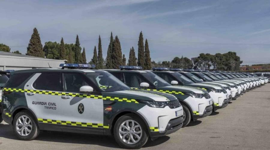 La Guardia Civil de Tráfico se hace con 85 todoterrenos de gama premium