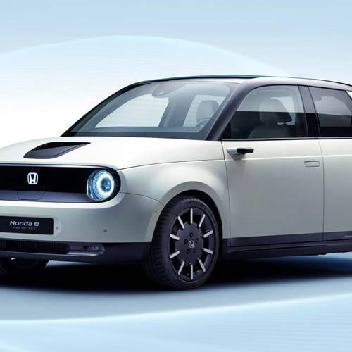 Honda e Prototype, el primer acercamiento a la nueva gama eléctrica