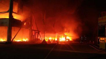 Incendio Jerez MotoE