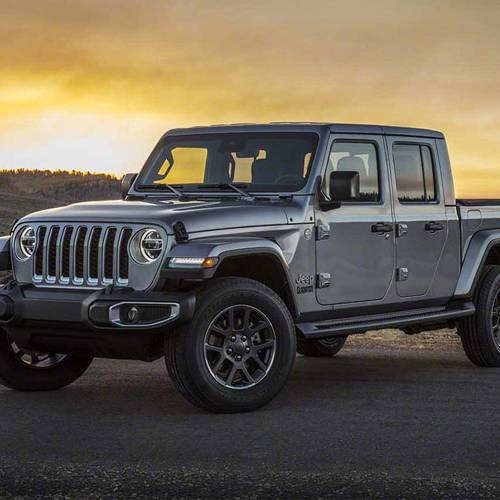 La pick-up Jeep Gladiator llegará a Europa en 2020