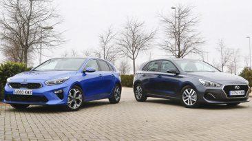 Kia Ceed vs Hyundai i30