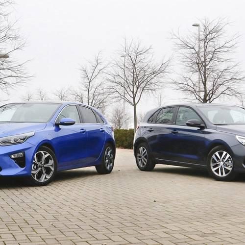 Kia Ceed vs. Hyundai i30, ¿con cuál te quedas?