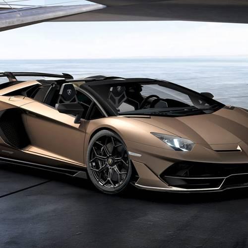 Lamborghini Aventador SVJ Roadster, una obra de arte a cielo abierto