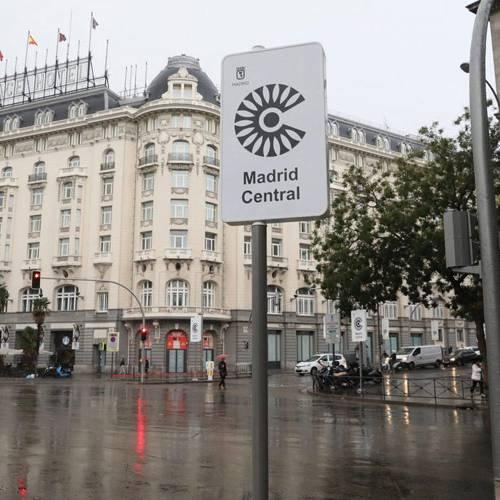 Las motos, ¿pueden entrar en Madrid Central?