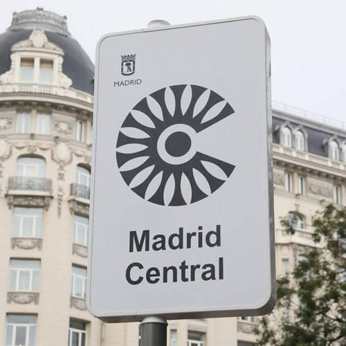 Todas las cámaras que controlan el acceso a Madrid Central