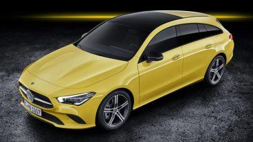 Mercedes-Benz CLA Shooting Brake 2019
