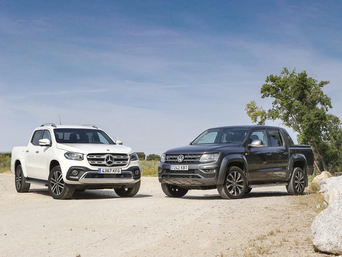 Mercedes-Benz Clase X vs Volkswagen Amarok