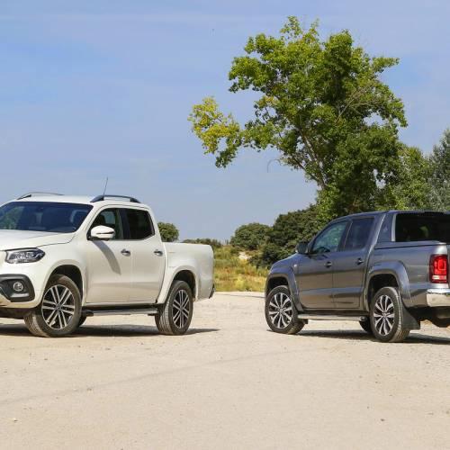 Comparativa campera: Mercedes-Benz X 250 d vs. Volkswagen Amarok