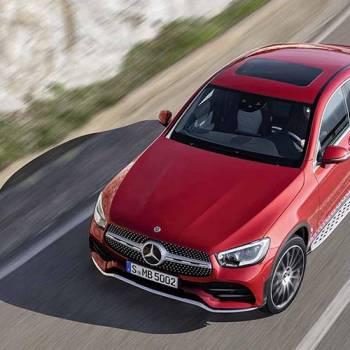 Mercede-Benz GLC Coupé, ligera actualización del SUV coupé compacto ahora con etiqueta ECO