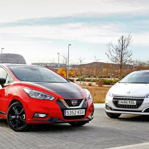 Nissan Micra y Peugeot 208 frente a frente, ciudadanos ejemplares