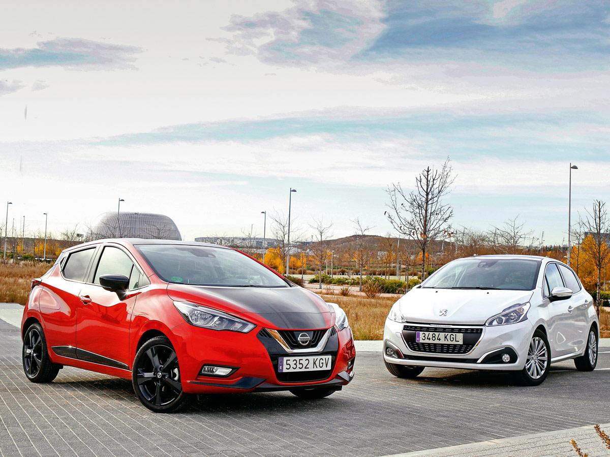 Nissan Micra vs Peugeot 208