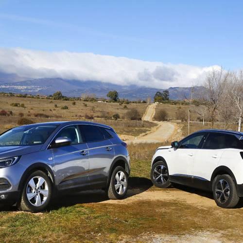 Comparativa SUV: Opel Grandland X vs. Peugeot 3008, como dos gotas de agua