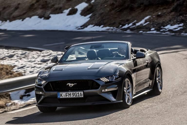 Prueba Ford Mustang 2018, convertible