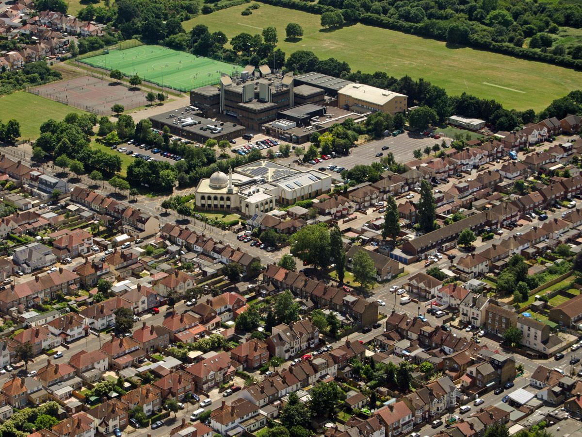Reino Unido zona residencial