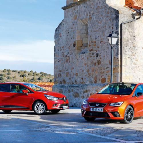 Comparativa urbana, Renault Clio vs SEAT Ibiza, apuesta por la gasolina