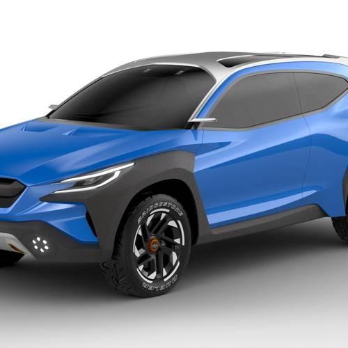 El Subaru Viziv Adrenaline Concept estrena el nuevo lenguaje de diseño de la marca