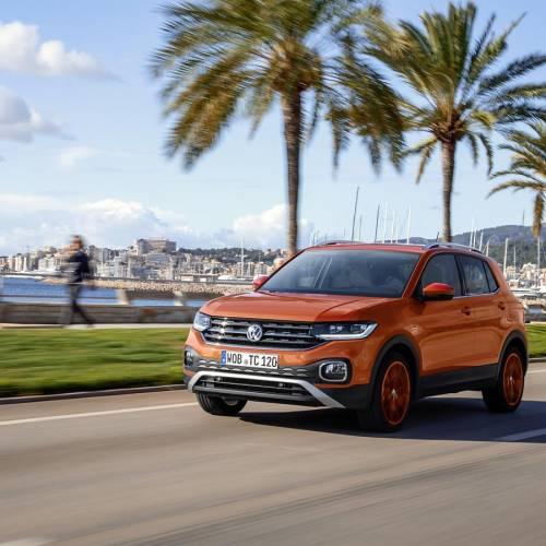 Al volante del Volkswagen T-Cross, el aventurero más urbano de la gama