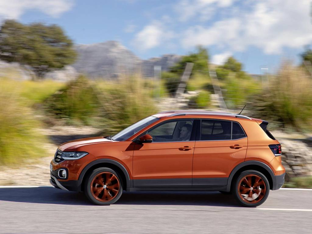 Volkswagen T-Cross barrido