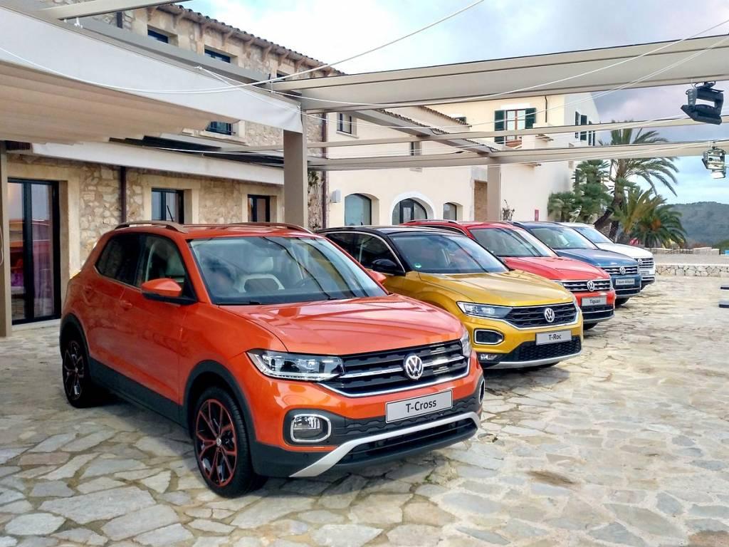 gama SUV Volkswagen
