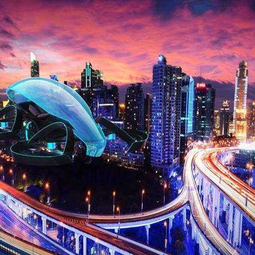 Un coche volador encenderá el pebetero de los Juegos Olímpicos de Tokio 2020